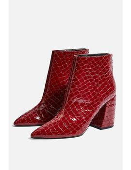 Houston Ankle Pointed Boots by Topshop