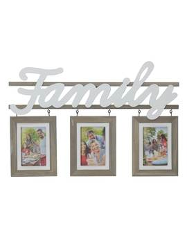 "Melannco ""Family"" 3 Opening 4"" X 6"" Collage Frame by Kohl's"