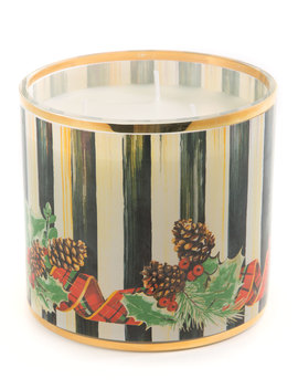 Evergreen Scented Holiday Candle by Mac Kenzie Childs