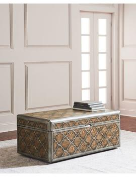 Herman Trunk Style Coffee Table by Hooker Furniture