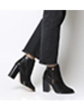 Affluent Heel Side Zip Boots by Office