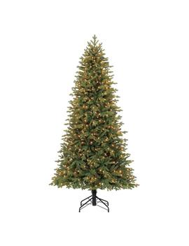 Holiday Living 7.5 Ft Pre Lit Norway Spruce Slim Upside Down Artificial Christmas Tree With 500 Constant White Clear Incandescent Lights Lights by Lowe's