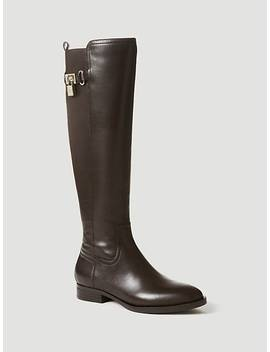 Gidget Boot With Padlock Charm by Guess