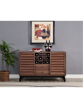 Orchard Point Walnut Wine Cabinet by Pier1 Imports