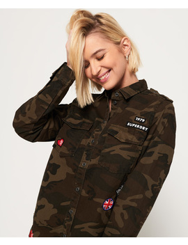 Military Shirt by Superdry