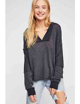 We The Free Coastal Long Sleeve Top by Free People