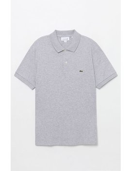 Lacoste Classic Pique Gray Polo Shirt by Pacsun