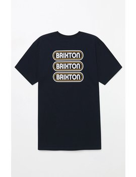 Brixton Astro T Shirt by Pacsun