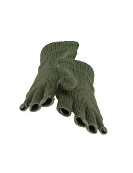 Mens Thinsulate Fingerless Gloves,  Black Or Green by Ebay Seller
