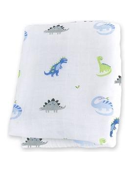 Lulujo Baby Muslin Cotton Swaddling Blanket by Well