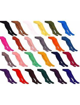 40 Or 60 Or 100 Denier Womens Opaque Microfibre Tights ,23 Fashionable Colours by Ebay Seller