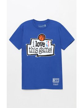 Mitchell & Ness I Love This Game T Shirt by Pacsun