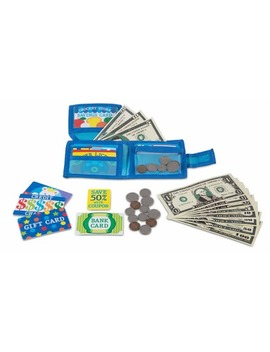 Melissa & Doug Pretend To Spend Wallet by Well