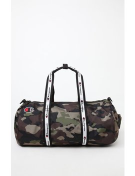 Champion Elect Camo Duffel Bag by Pacsun