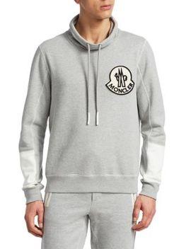Maglia Girocollo Cotton Sweatshirt by Moncler