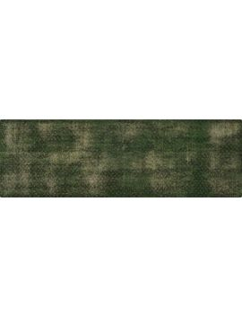 Disintegrated Green Floral Runner 2.5'x8' by Crate&Barrel