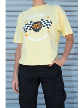 Aleena Moto Speedway Top by Brandy Melville