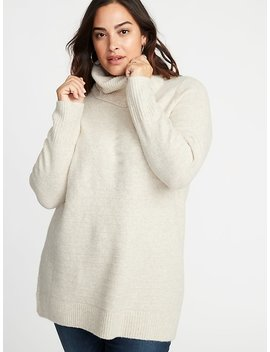 Plus Size Turtleneck Tunic Sweater by Old Navy