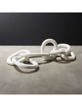 Links Marble Chain by Crate&Barrel