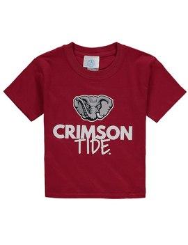 Alabama Crimson Tide Youth Crew Neck T Shirt   Crimson by Fanatics