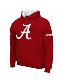Alabama Crimson Tide Stadium Athletic Big Logo Pullover Hoodie   Crimson by Fanatics