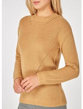 Camel Stitch Detail Jumper by Dorothy Perkins