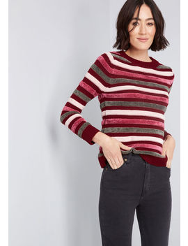 Duly Noticed Chenille Sweater by Modcloth
