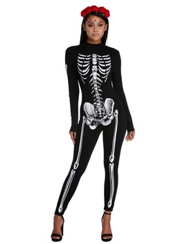 Full Exposure Skeleton Jumpsuit by Windsor