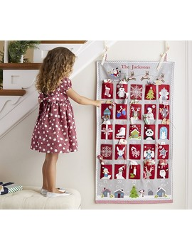 Quilted Advent by Pottery Barn Kids