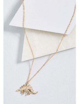 Stego Into Detail Pendant Necklace by Modcloth