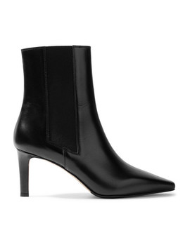 Leila Leather Ankle Boots by Aeydē