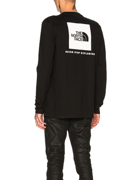 Long Sleeve Red Box Tee by The North Face