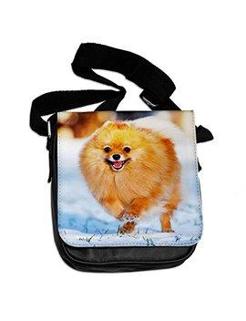 Pomeranian Animal Shoulder Bag 237 by Duke Gifts