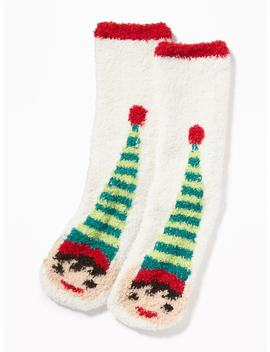 Printed Cozy Socks For Women by Old Navy