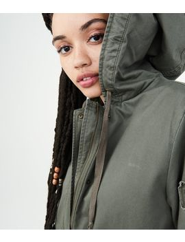 Solid Swing Parka by Aeropostale