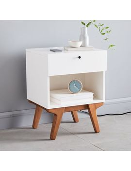 Modern Charging Nightstand by West Elm