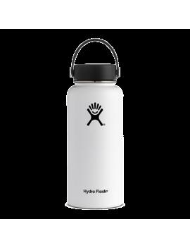 Hydro Flask 32 Oz Wide Mouth Water Bottle   White by Sport Chek
