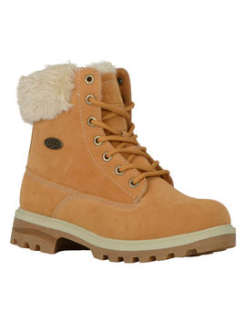 Lugz Womens Empire Hi Fur Hiking Boots Lace Up by Lugz