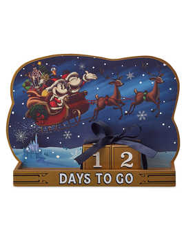 Santa Mickey And Minnie Mouse Holiday Countdown Calendar by Disney