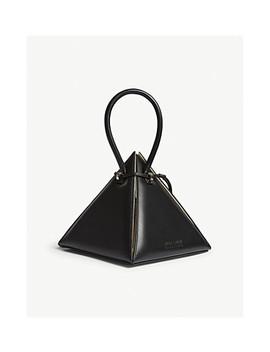 Lia Pyramid Leather Handbag by Nita Suri