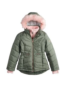 Girls 7 16 Free Country Solid Heavyweight Puffer Jacket by Kohl's