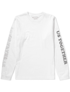 Darylstudio Long Sleeve Love Will Tear Us Reversible Printed Tee   End. Exclusive by Darylstudio