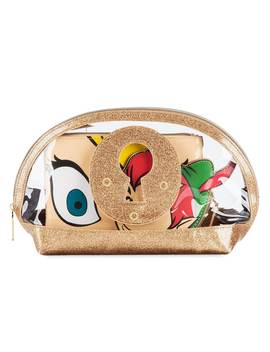 Peter Pan And Tinker Bell Cosmetics Bag Set By Danielle Nicole by Disney