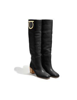 Mirror Heel Boot by Salvatore Ferragamo