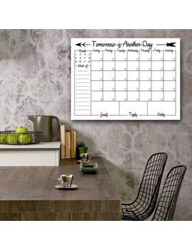 Ready2 Hang Art Navajo Dry Erase Monthly Calendar On Art Plexi by Ready2 Hang Art