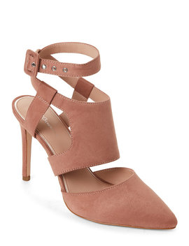 Deep Blush Heather Cutout Pumps by Bcbgeneration