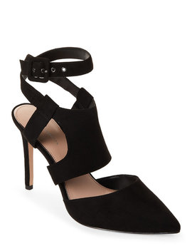 Black Heather Cutout Pumps by Bcbgeneration