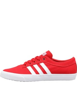 Adidas Originals Junior Sellwood Trainers Scarlet/Footwear White/Footwear White by Mand M Direct