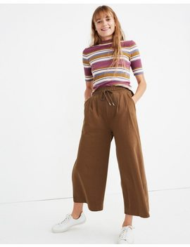 Chord Wide Leg Pants by Madewell