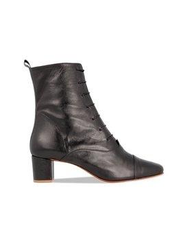 By Far Lada Leather Boot   Black by Garmentory